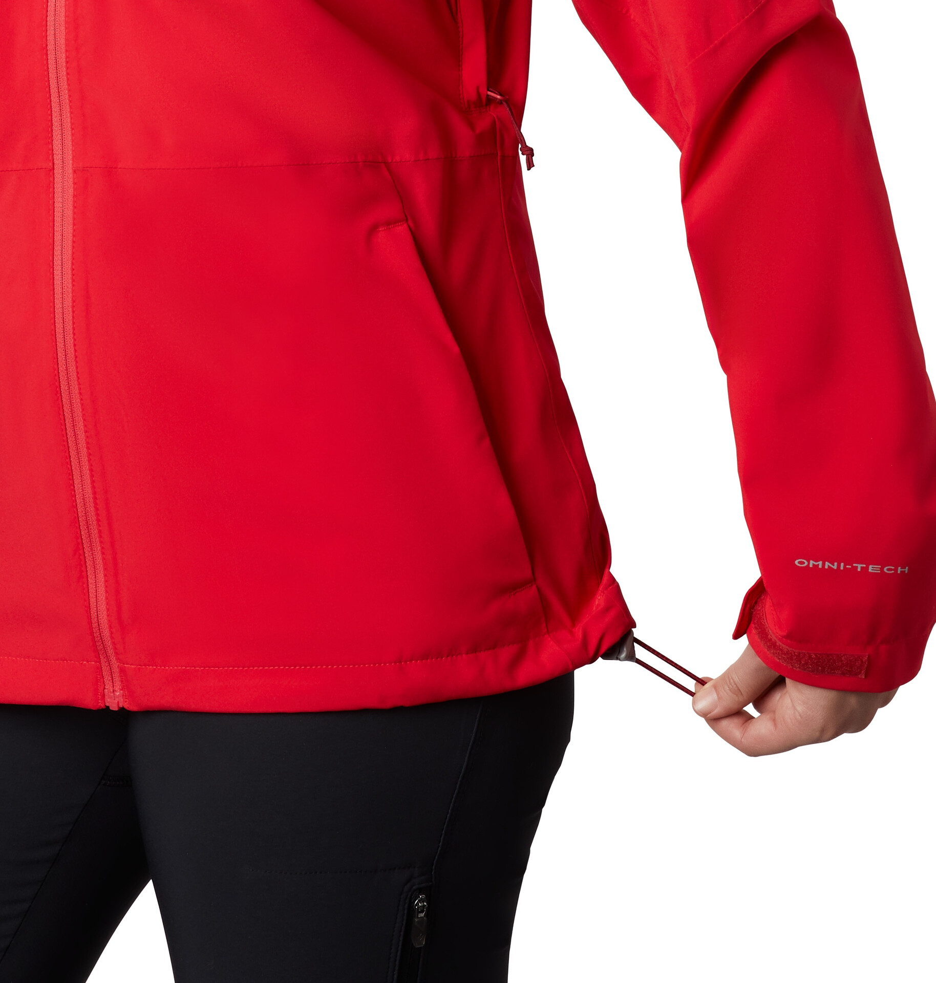Columbia Evolution Valley II Giacca Donna, red lily su Addnature 7GyIr